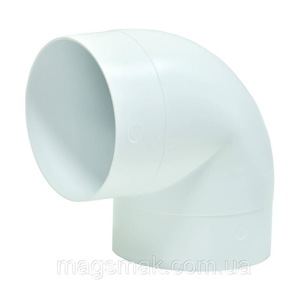 Колено 90°, для круглых каналов D 100 мм (10ККП)