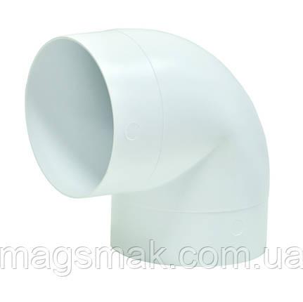 Колено 90°, для круглых каналов D 125 мм (12,5ККП), фото 2