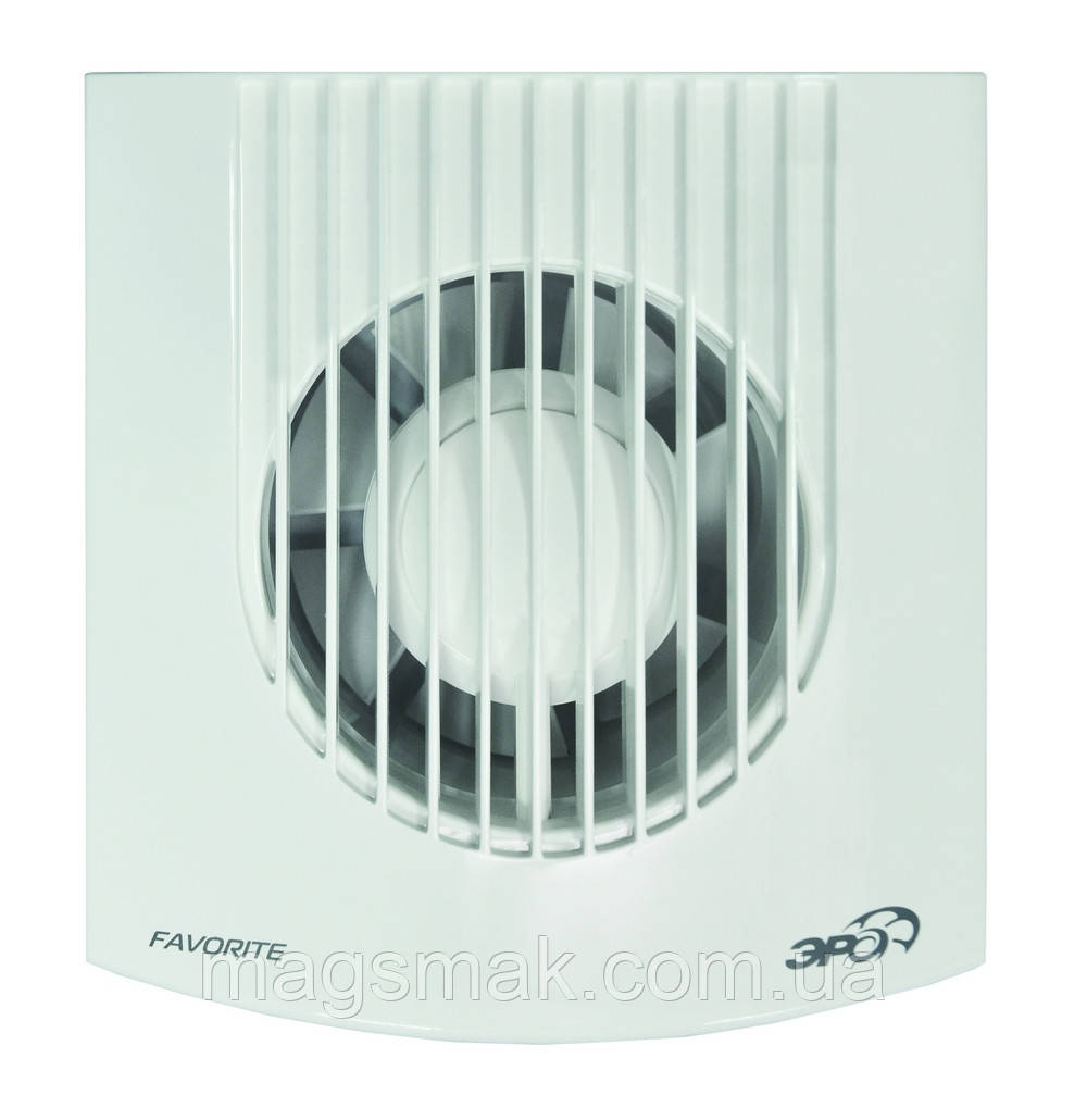 Вентилятор осевой вытяжной, DISC D 100 мм, обратный клапан