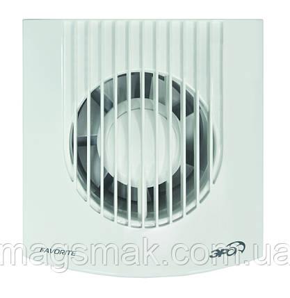 Вентилятор осевой вытяжной, DISC D 100 мм, обратный клапан, фото 2