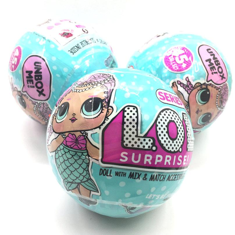 Невероятная новинка L. O. L. surprise 1 сезон.Сюрприз кукла Lol surprise сюрприз в шаре