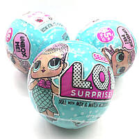 Невероятная новинка L. O. L. surprise 1 сезон.Сюрприз кукла Lol surprise сюрприз в шаре, фото 1