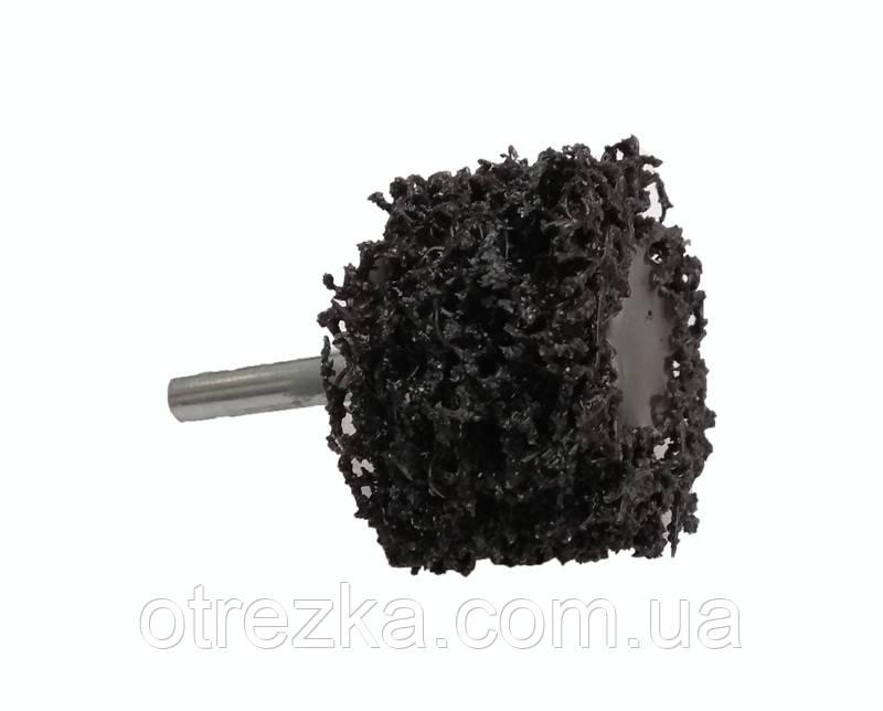 Зачистной круг Orientcraft 50х25 мм. черный (средней жесткости) для дрели.
