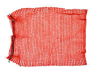 Сетка-мешок для упаковки овощей с завязкой фиолетовая, 45х75 см, до 30 кг, для картофеля