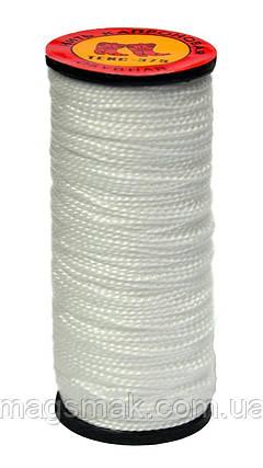 Нить капроновая, 10 шт, Украина белая, 375 текс, 40м, фото 2
