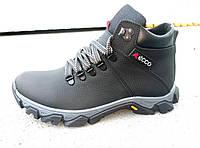 Зимние кожаные мужские ботинки ECCO 40-45 р-р