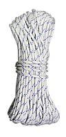 Шнур полипропиленовый плетеный, Украина D 5 мм, 30 м