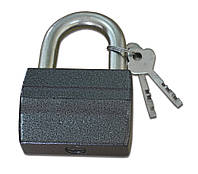 Замок навесной, дисковый, ЗВС-3 73 мм, алюминий, автомат, d 12 мм, 3 ключа