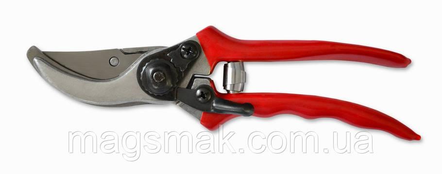 Секатор, косой срез, ручка алюминиевая с виниловым покрытием 205 мм, d среза 20 мм, фото 2