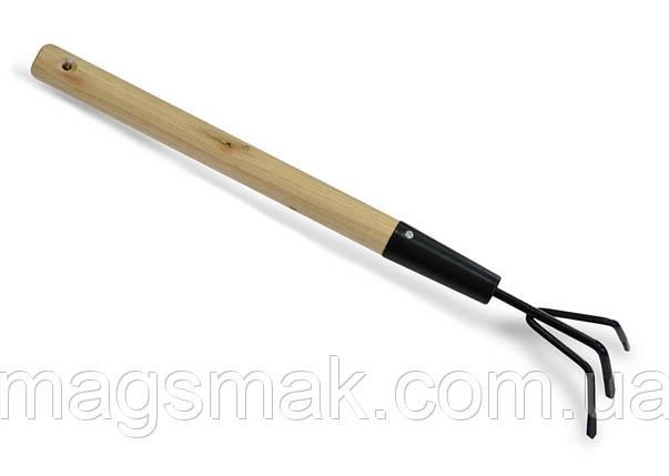 Разрыхлитель, деревянная ручка 450 мм, фото 2