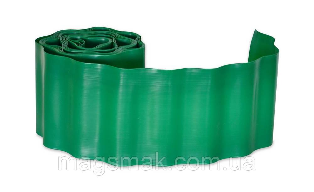 Бордюр газонный (зеленый) 20 см х 9 м