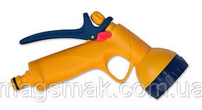 Пистолет-распылитель пластиковый 6-позиционный, с фиксатором потока