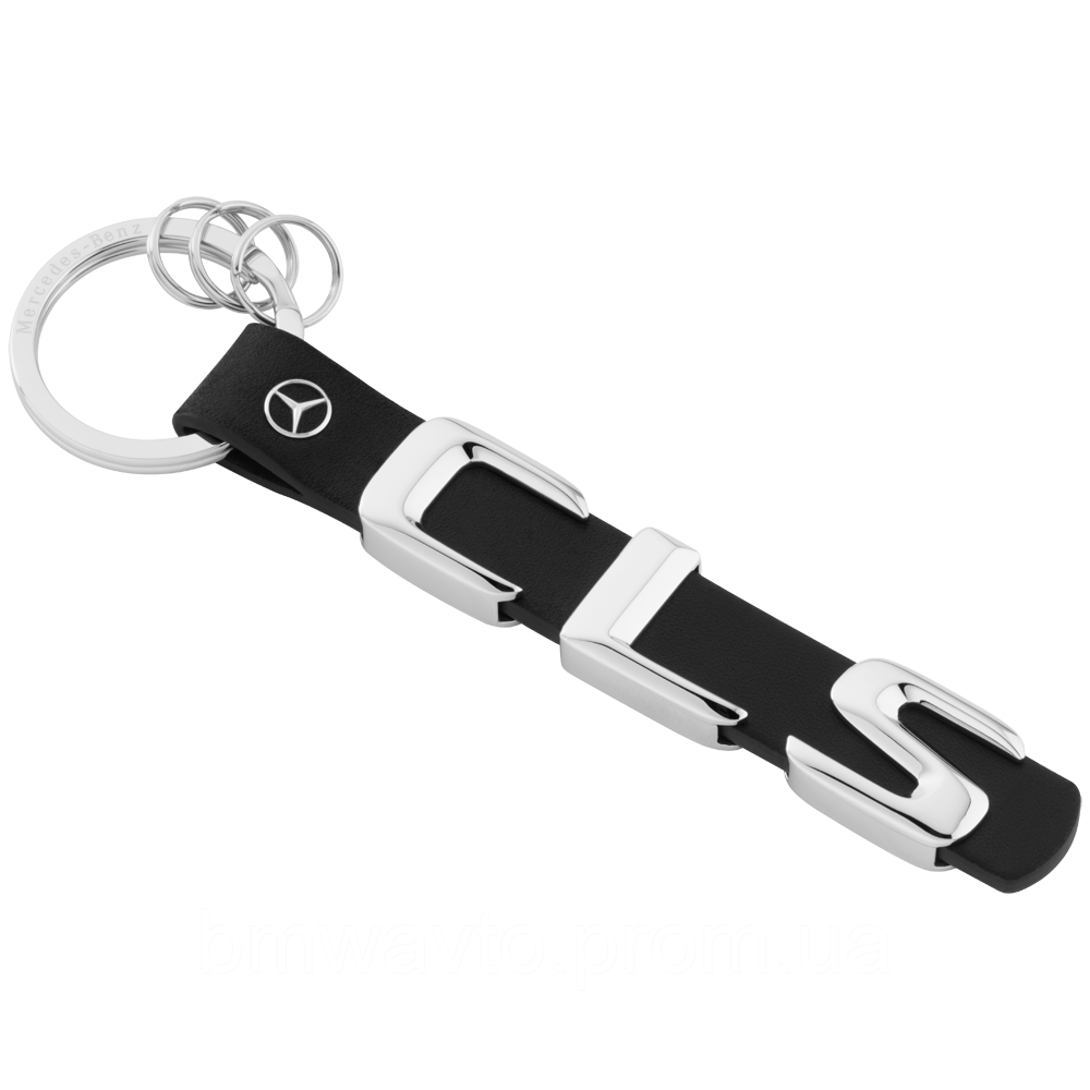 Брелок Mercedes-Benz CLS-class Keyring, Metal-Leather