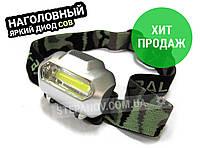Светодиодный налобный фонарь фонарик на голову X-Balog BL-2088