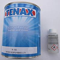 TENAX Nitor 50 Жидкий прозрачный клей-шпатлёвка  для резинатуры. 1.25 кг  Италия