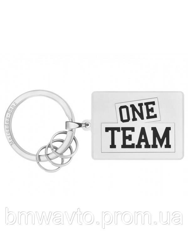 Брелок Mercedes-Benz Key Ring, ONE TEAM
