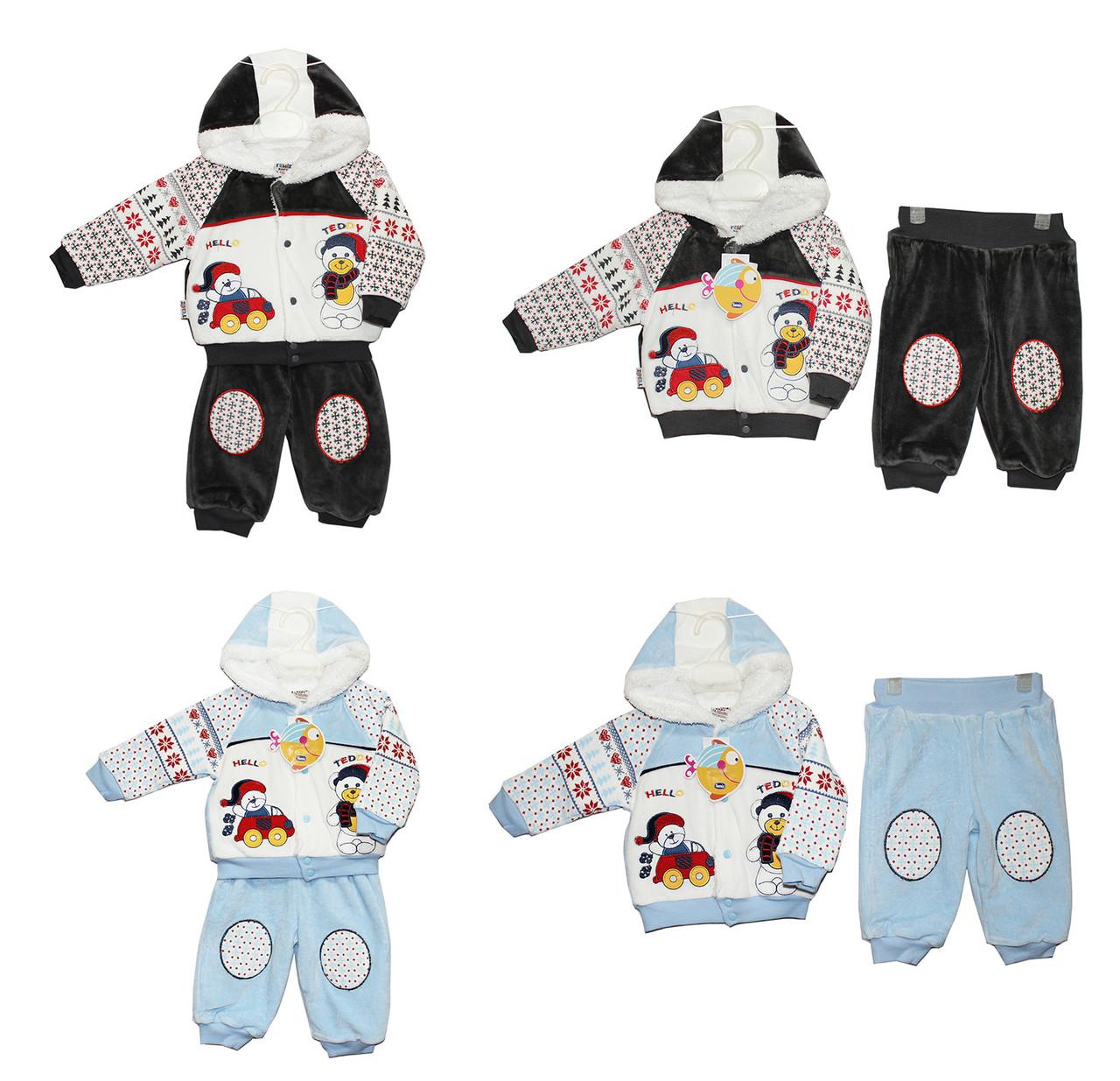 Костюми дитячі теплі для хлопчика Temiz 809
