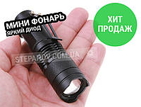 Светодиодный ручной фонарь фонарик X-Balog BL-8468 Q5