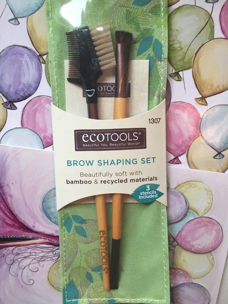 Набор кистей для бровей EcoTools Brow Shaping Set