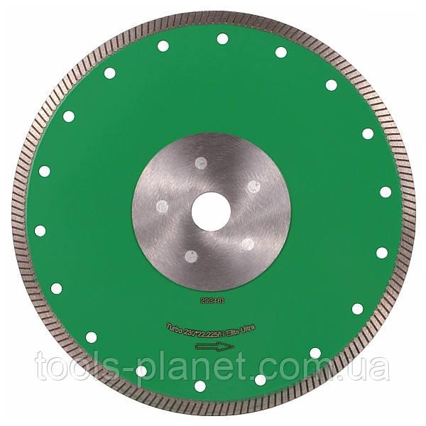 Алмазный диск Distar 1A1R Turbo 230 x 1,6 x 8,5 x 22,23 / H Elite Ultra 5D (10115024017), фото 1