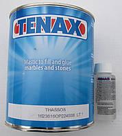 TENAX Thassos Густой прозрачный клей-шпатлёвка 1.2 кг  Италия