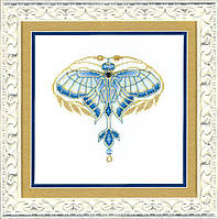 Набор для вышивки крестиком М-244 Золотая пыльца