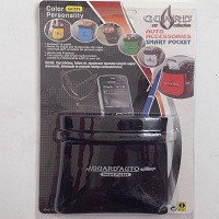 Автомобильная подставка карман под телефон АК0201/ SAK 04 ткань черная