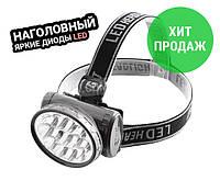 Светодиодный налобный фонарь аккумуляторный 1898 WIM