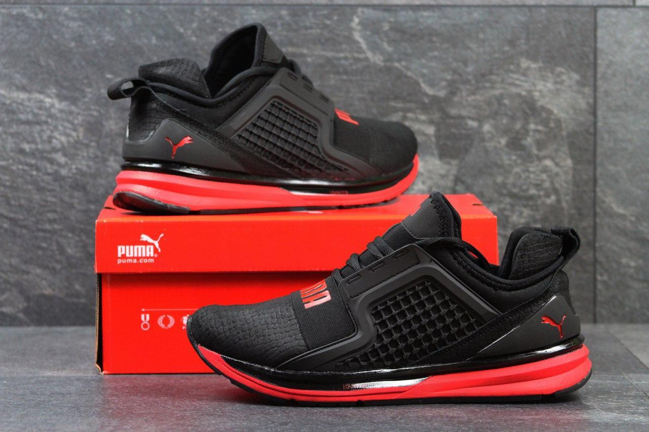"""Кроссовки Puma Ignite Limitless код 3145 черно красные - Интернет-магазин обуви """"OBUFF-SHOP"""" в Хмельницком"""