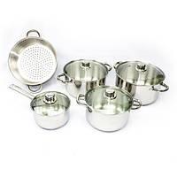 Набор посуды Giakoma 9 предметов пароварка. Отличное качество. Практичный набор. Купить онлайн. Код: КДН2234
