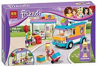 "Конструктор Bela Friends 10608 ""Служба доставки подарков"" (аналог LEGO Friends) 188 дет. (Френдс, подружки)"