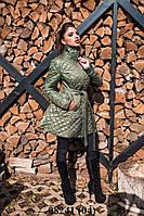 Пальто женское стеганное 08241 (04)
