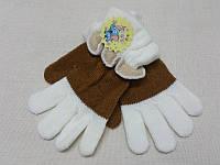 Детские шерстяные перчатки