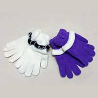 M Детские перчатки шерстяные