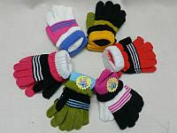 М Детские перчатки шерстяные с манжетом