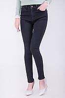 Узкие черные женские джинсы