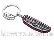 Брелок Mercedes-Benz Key Ring Atlanta, Silver/Black/Plum