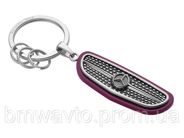Брелок Mercedes-Benz Key Ring Atlanta, Silver/Black/Plum, фото 2