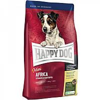 Happy Dog Mini Africa 4кг- корм для собак с мясом страуса и картофелем