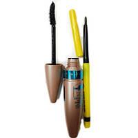 Тушь для ресниц Maybelline Lash Sensational + карандаш