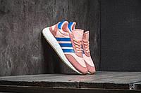 Женские кроссовки Adidas Iniki Runner W Haze Coral/ Blue/ Gum