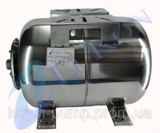 Бак ( гидроаккумулятор ) нержавеющая сталь 50 л, фото 2