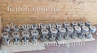 Профессиональный гантельный ряд 12 - 30 кг, шаг 2 кг, 420 кг, фото 1