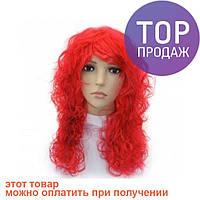 Парик Волнистый (красный) / аксессуары для волос