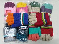 M Детские перчатки зимние с мехом