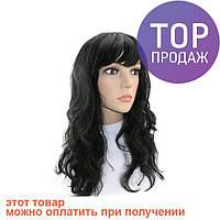 Парик Волнистый (черный) / аксессуары для волос
