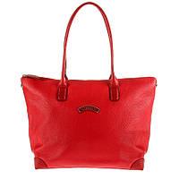 Кожаная женская сумка-трансформер красного цвета TONY PEROTTI 6084