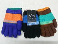 Детские зимние перчатки мех
