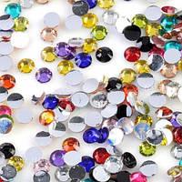 Цветные стразы для декора ногтей №4, 1440 шт