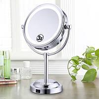 Косметическое зеркало со светодиодной подсветкой, Led подсветкой